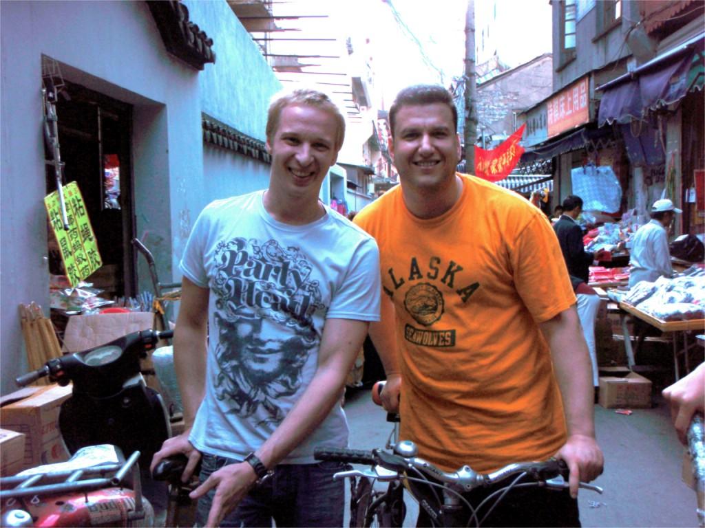 David Dreyer und Andre Alpar